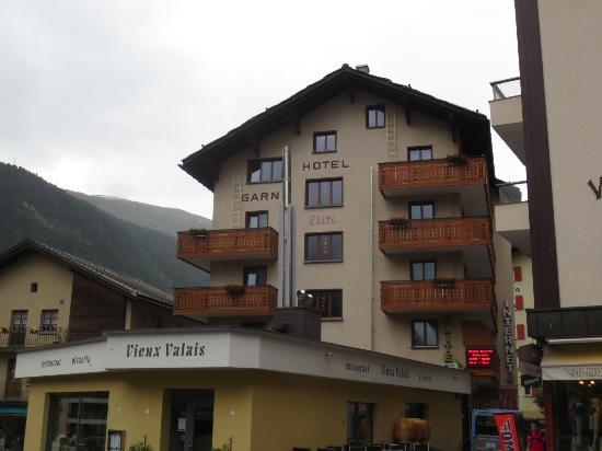Hotel Elite Garni : 外観