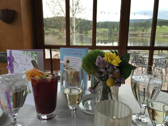 Willow Creek Restaurant: view from our table