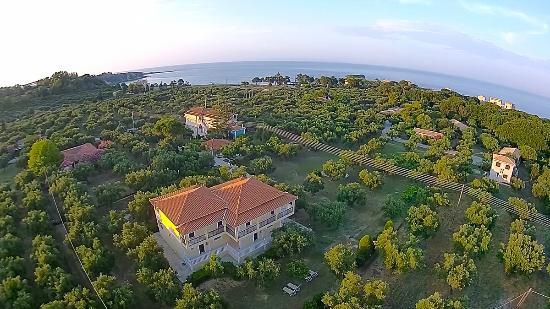 Villa Katerina: Aerial picture