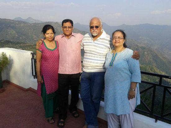 Krish Rauni: The foursome on the terrace