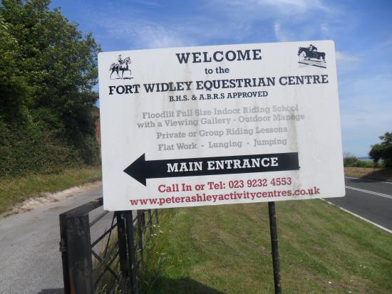 Fort Widley Equestrian Centre Picture Of Portsdown Hill