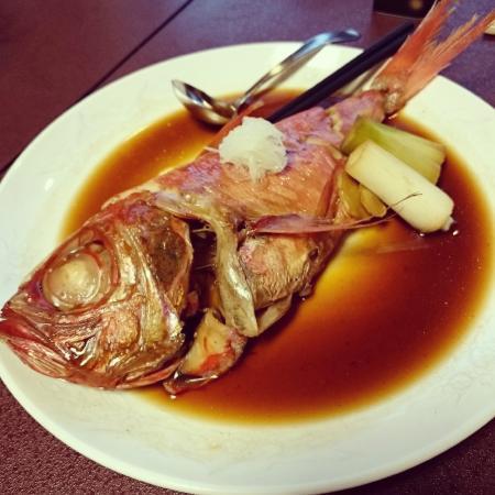 kaneyoshi ittouan: 立派な金目鯛でした
