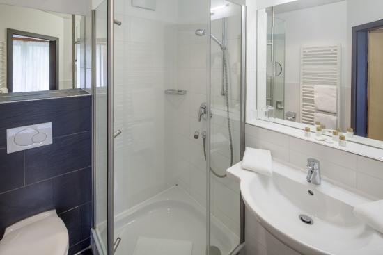 Hotel Oberstdorf: Badezimmer