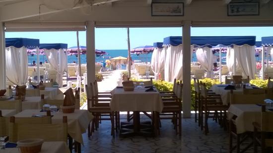 Foto de ristorante bagno flora marina di massa la sala tripadvisor - Bagno la cicala marina di massa ...