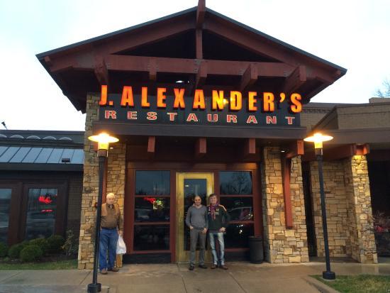 J. Alexander's: nice place