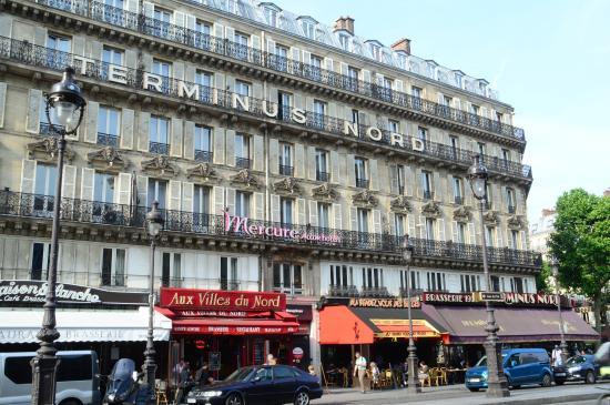 our room picture of mercure paris terminus nord paris tripadvisor. Black Bedroom Furniture Sets. Home Design Ideas
