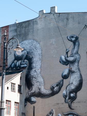 Mural Przy Piotrkowskiej Picture Of Piotrkowska Street Lodz