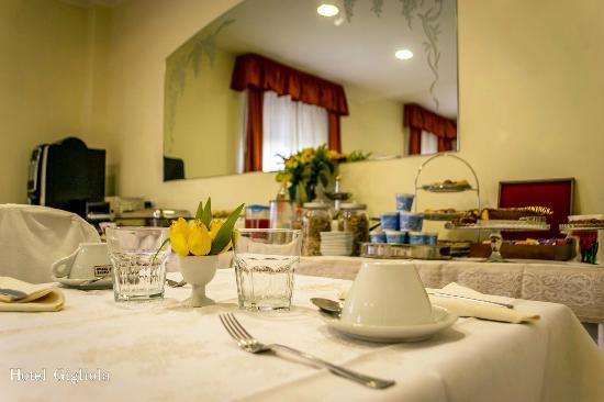 Hotel Gigliola : sala colazioni