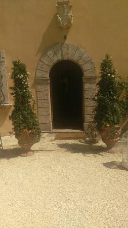 Villa Cicolina: Ingresso albergo