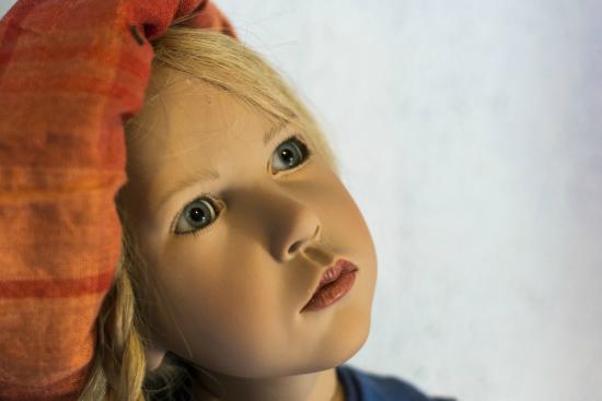 Icod de los Vinos, España: Una de las muñecas del museo