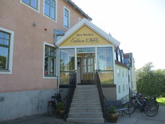 Best Western Solhem Hotel : Hotel entrance