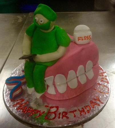Bakers Hut Dentist Cake