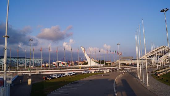 Galla Hotel: Олимпийский парк