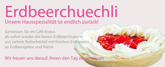 Erdbeerchuechli Café Knaus