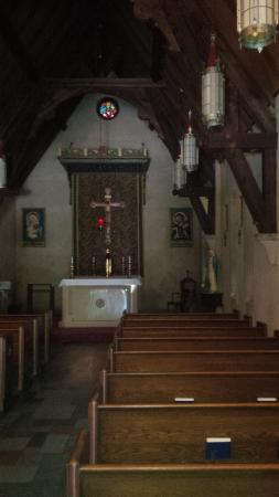 Saint Andrew Catholic Church : Inside View