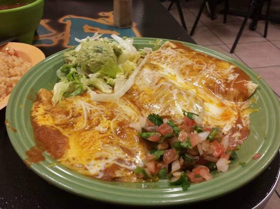 Original Enchiladas - Picture of Enchilada's Ole, Fort ...