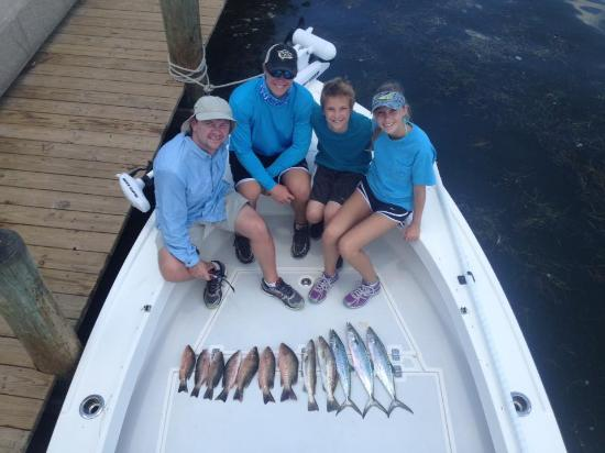 Capt. Rick Gross with Fishy Business