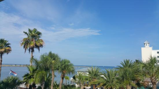 GulfView Hotel - On The Beach: View from the room