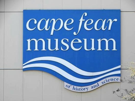 Cape Fear Museum: sign