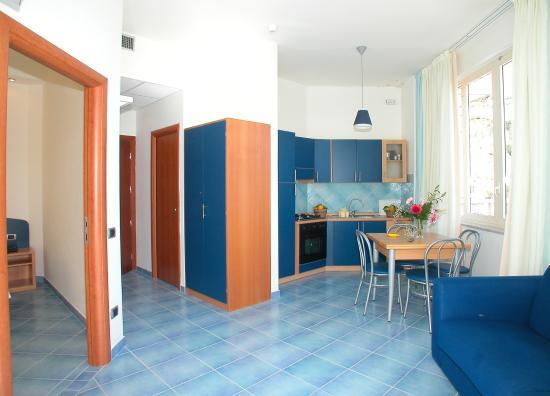 Residence Hotel Panoramic: Soggiorno e cucina