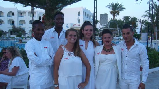 Hotel Golf Beach : Equipe d'animation Eté 2015
