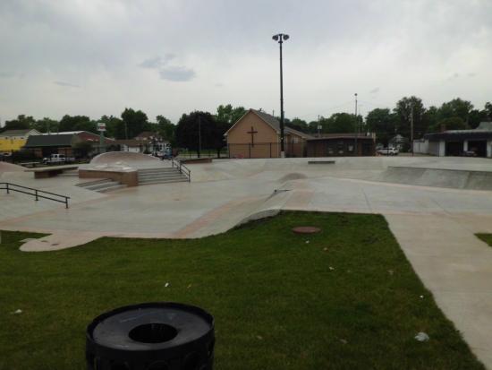 Oskaloosa, IA: urban skate park