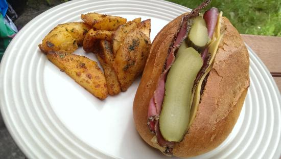 Source Deli: Carnegie Deli Sandwich and wedges