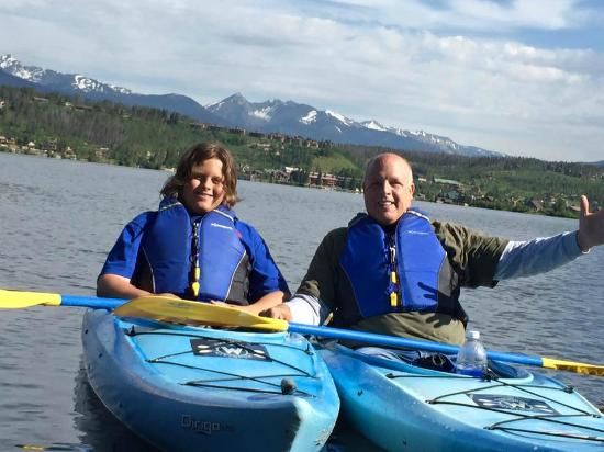 Mountain Paddlers: Great father/Son adventure