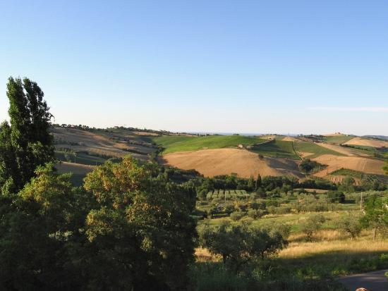 Locanda Belvedere: panorama