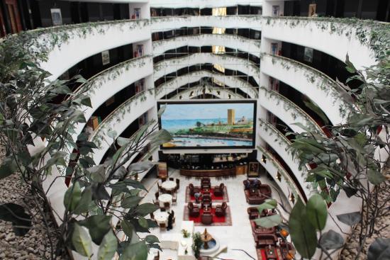 Hotel Rabat : Lobby de l'Hotel