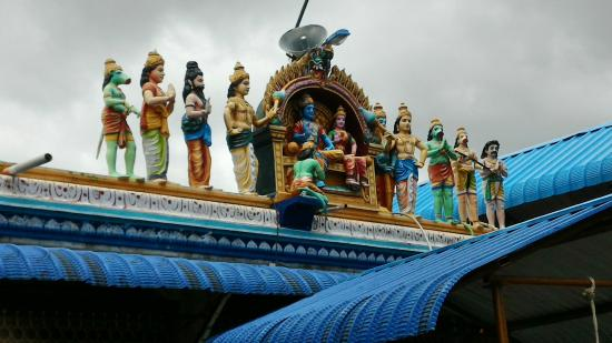 Krishnagiri, India: Temple View