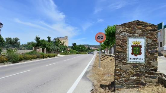 Madroñera, España: La entrada