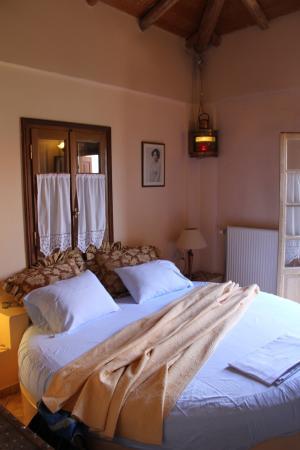 Archontiko Art Hotel : Zimmer mit Meerblick