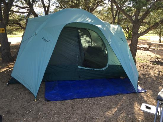 Arrowhead Point Campground & Cabins: Our Tent