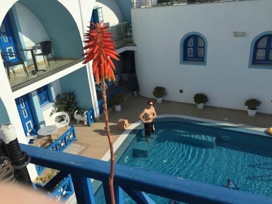 Agnadema Apartments : The pool