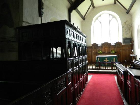 Craven Arms, UK: The Canopied Pews