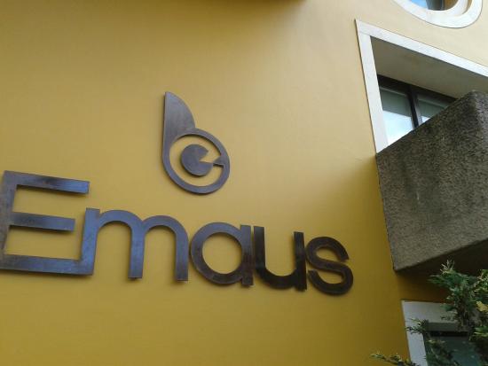 Hotel Emaus Bogota : La entrada