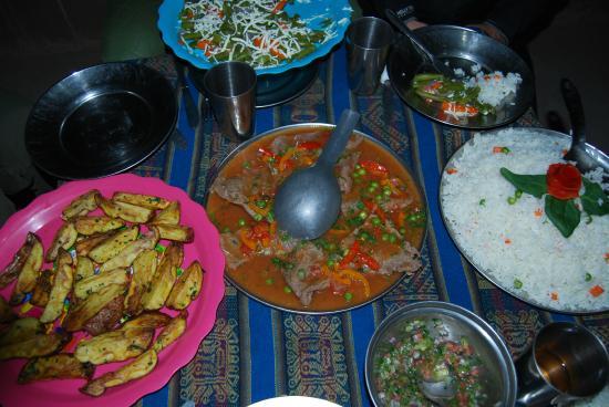 Chakana Tour Peru: Gourmet Food on the Inca Trail ( Alpaca!)