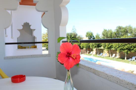Hostal Alhambra: Terraza-vistas