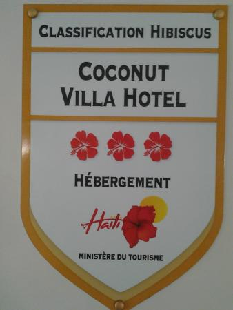 Coconut Villa Hotel : Classification Hibiscus