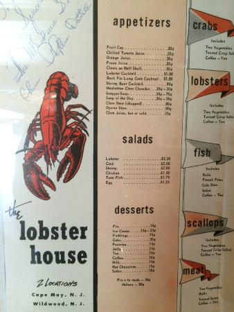 Lobster House Takeout Cape May Nj | Lobster House