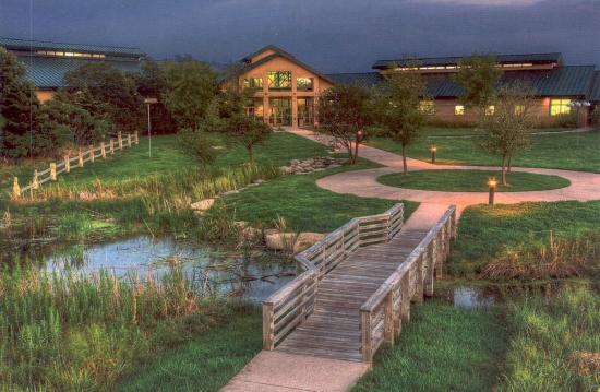 Wichita, KS: The Great Plains Nature Center glows with life. Photo by Thane Rogers.