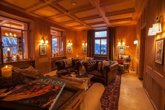 Hotel Restaurant Bellevue: Lounge
