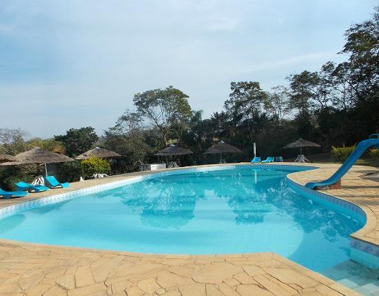 Rio Novo, MG: Piscina do Hotel