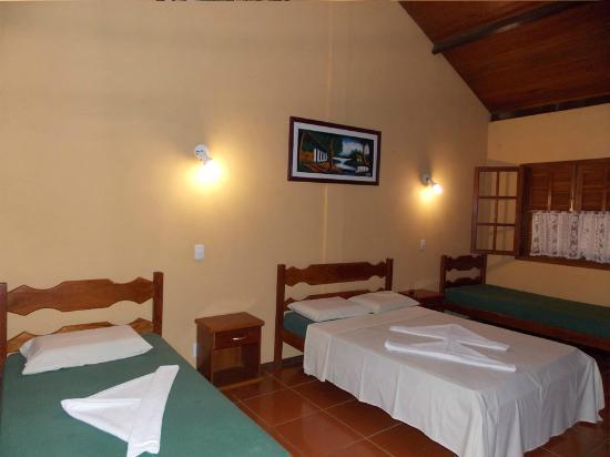 Quarto do Hotel Foto de Hotel Fazenda Santa Felicidad  ~ Quarto Solteiro Hotel