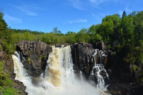Pigeon River Falls Grand Portage