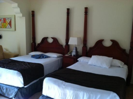 Junior Suite With Jacuzzi Two Double Beds Picture Of