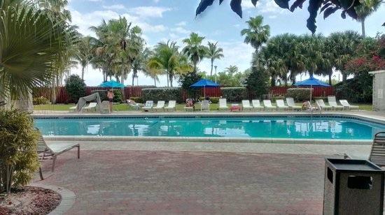 Seagull Hotel Miami Beach Sector Piscina