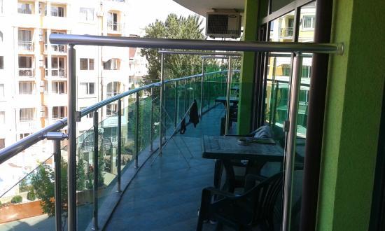 Hotel L&B: balcony