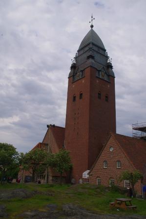 Masthuggskyrkan: Nordic style church